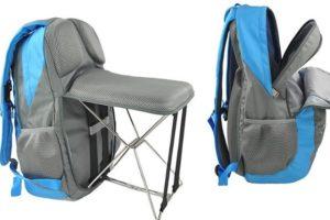 Le sac à dos avec un petit siège intégré