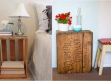 Bricolage : une table de chevet pour tous les styles