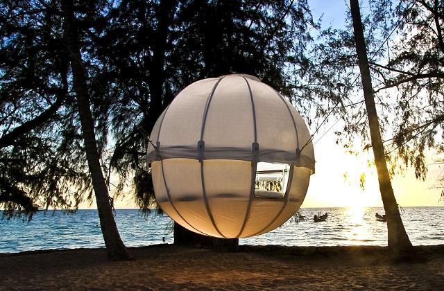 Cocoon tree : la tente suspendue à un arbre