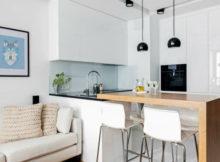 Des cuisines blanches et en bois qui resteront toujours à la mode