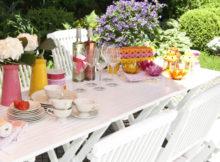 Comment mettre la table en été