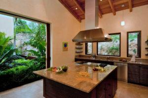 Cuisines avec îlot (et péninsule) pour les petites maisons