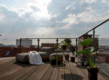Terrasse de style new-yorkais : beaucoup d'exemples sur les photos