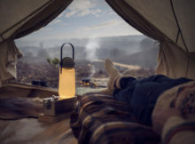 GuideLight : la lampe de camping confortable et belle