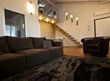 La couleur marrone pour les meubles